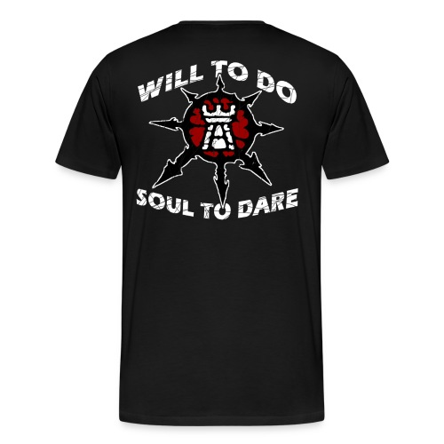 Task Force Havoc Logo and Motto - Men's Premium T-Shirt