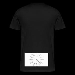 Hu$+ 3 - Men's Premium T-Shirt