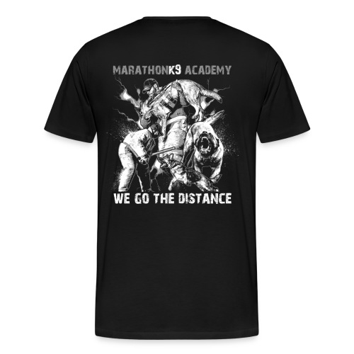 MarathonK9 Academy Graphic Shirt - Men's Premium T-Shirt