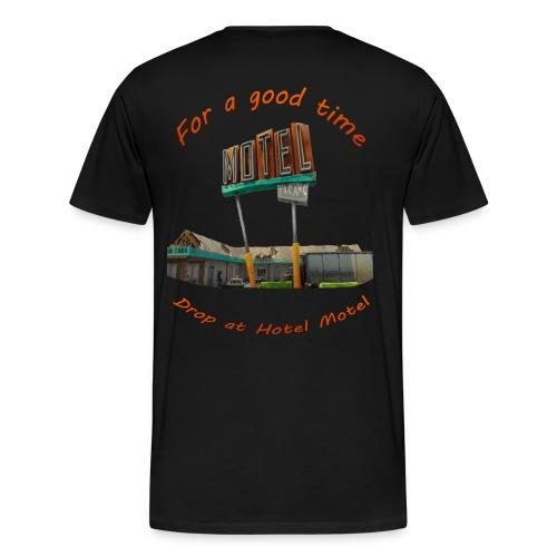 hotelmotel - Men's Premium T-Shirt