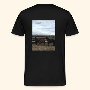 Support the Flintstone Family - Men's Premium T-Shirt