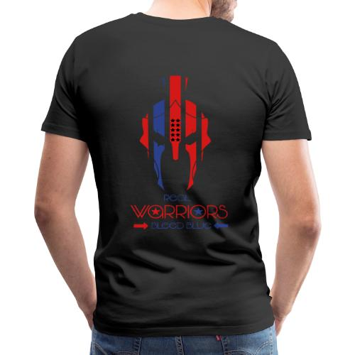 Real Warriors Bleed Blue tshirt. Limited Edition!! - Men's Premium T-Shirt