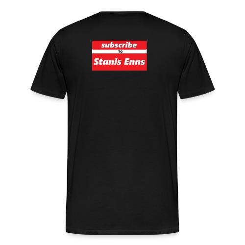 subscribe to Stanis Enns - Men's Premium T-Shirt