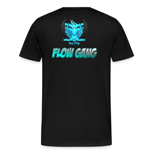 Flow Gang With So Fly Official Logo - Men's Premium T-Shirt