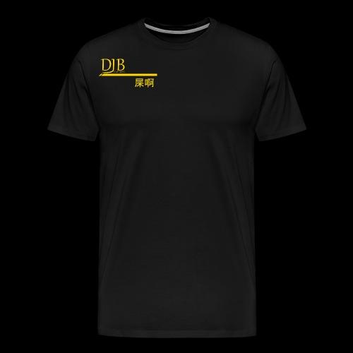 DJB premium (GOLD) - Men's Premium T-Shirt