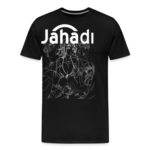 HADIBITCHESWHITE - Men's Premium T-Shirt