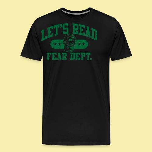 Athletic Green - Inverted for Dark Shirts - Men's Premium T-Shirt