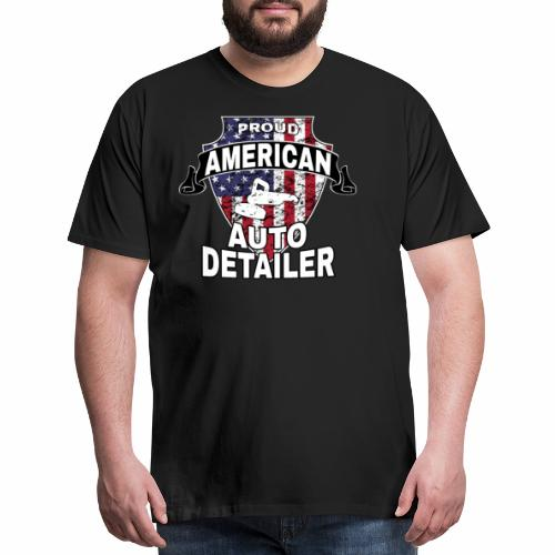 AMERICAN AUTO DETAILER SHIRT   CAR DETAILING - Men's Premium T-Shirt