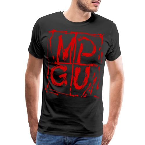 MPGU RED STROKE - Men's Premium T-Shirt
