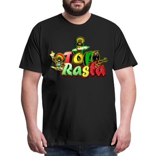 Top Rasta T Shirts copy - Men's Premium T-Shirt