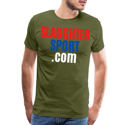 SLAUGHTERSPORT.COM - Men's Premium T-Shirt