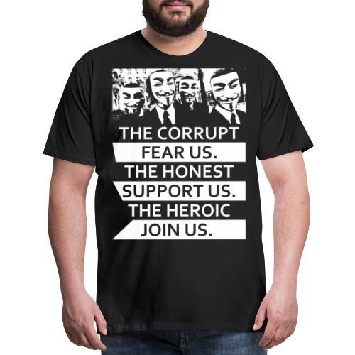 Anonymous 5 - Men's Premium T-Shirt