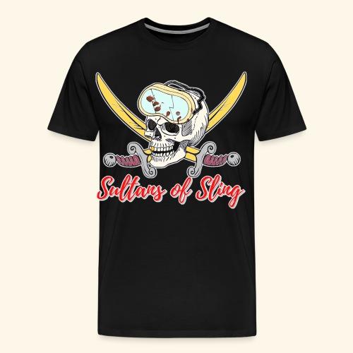 Sultans Skully Logo - Men's Premium T-Shirt