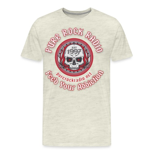 PUREROCKRADIO darkback radioflag PNG png - Men's Premium T-Shirt