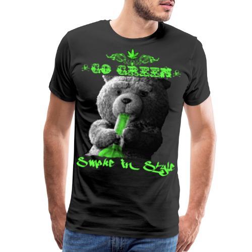 Go Green 2 - Men's Premium T-Shirt