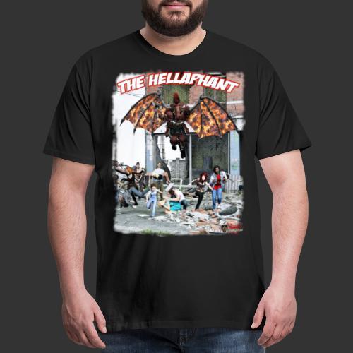 The Hellaphant Alternate Concept: Re-Issue - Men's Premium T-Shirt