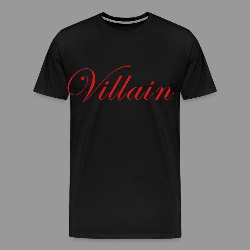 Villain - Men's Premium T-Shirt