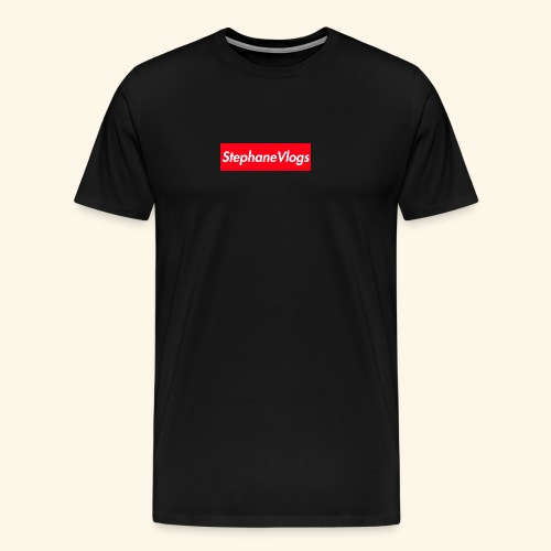 StephaneVlogs supreme version - Men's Premium T-Shirt