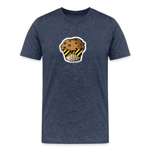 Hufflemuffin Logo Raster - Men's Premium T-Shirt