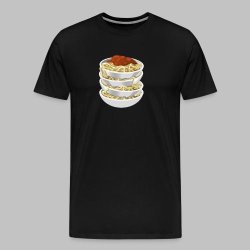 food tasty pasta 2400px - Men's Premium T-Shirt
