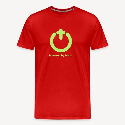 POWERED BY JESUS - Men's Premium T-Shirt