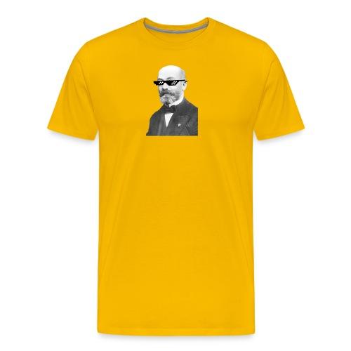 Zamenhof Shades (BW) - Men's Premium T-Shirt