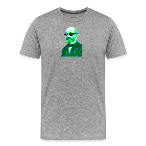 Green and Blue Zamenhof - Men's Premium T-Shirt