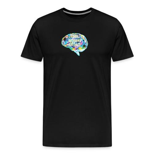 brain fact - Men's Premium T-Shirt