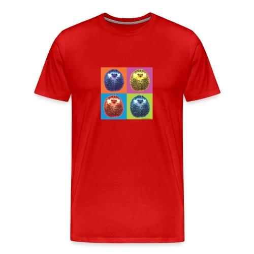herisson pop - Men's Premium T-Shirt