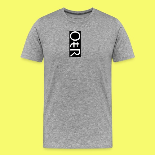OntheReal coal - Men's Premium T-Shirt