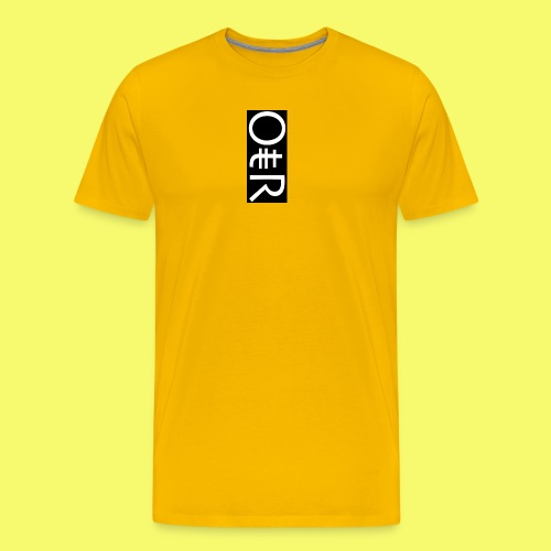 OntheReal coal - Men's Premium T-Shirt