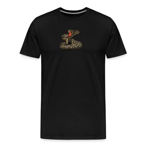RATTLESNAKE SLASHER - Men's Premium T-Shirt
