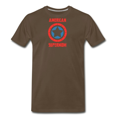 American Supermom - Men's Premium T-Shirt