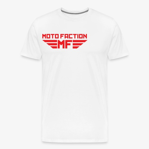 MotoFaction Logo - Men's Premium T-Shirt