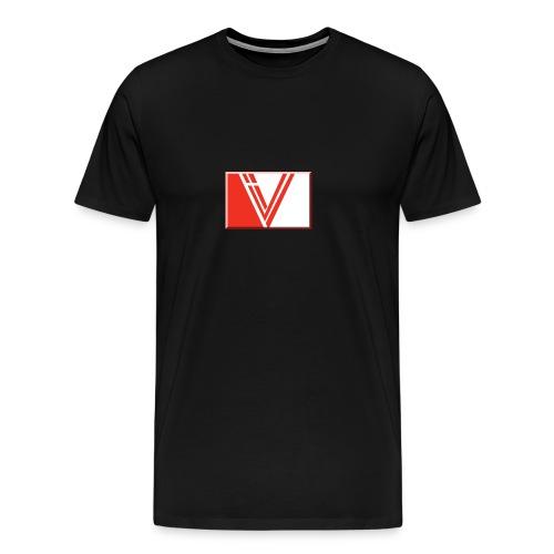 LBV red drop - Men's Premium T-Shirt