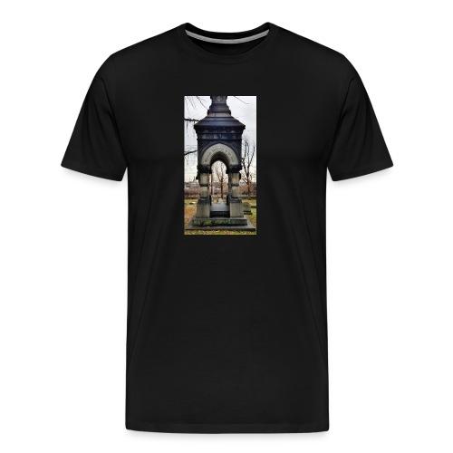 through the darkness - Men's Premium T-Shirt