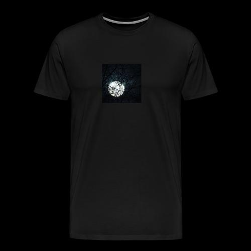 trees covering the Moon - Men's Premium T-Shirt