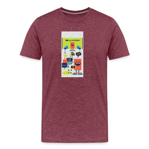 iphone5screenbots - Men's Premium T-Shirt