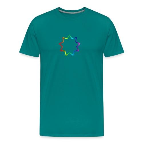 Baha´i rainbow - Men's Premium T-Shirt