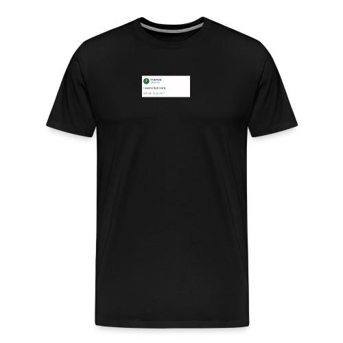 I wanna fxck icarly - Men's Premium T-Shirt