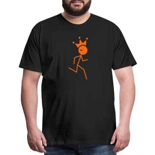 Winky Running King - Men's Premium T-Shirt