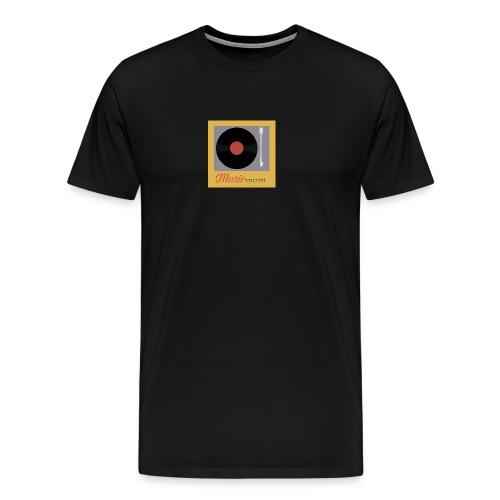 Music Truth Retro Record Label - Men's Premium T-Shirt