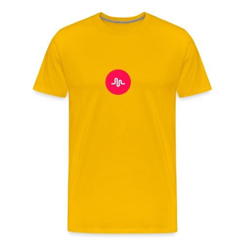 Musical.ly logo - Men's Premium T-Shirt