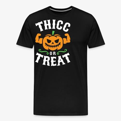 Thicc Or Treat - Men's Premium T-Shirt