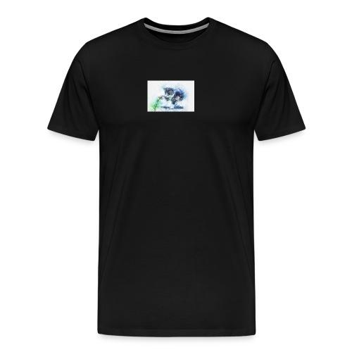 slowly touch - Men's Premium T-Shirt