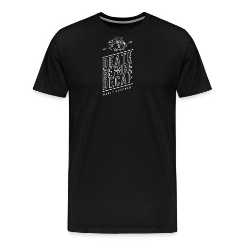 coffee cup white - Men's Premium T-Shirt