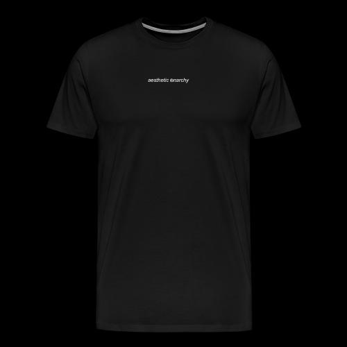 'Black' Aesthetic Anarchy - Men's Premium T-Shirt