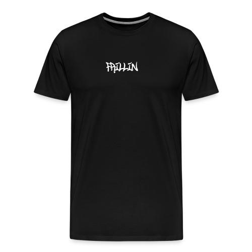 Frillin text transparent - Men's Premium T-Shirt
