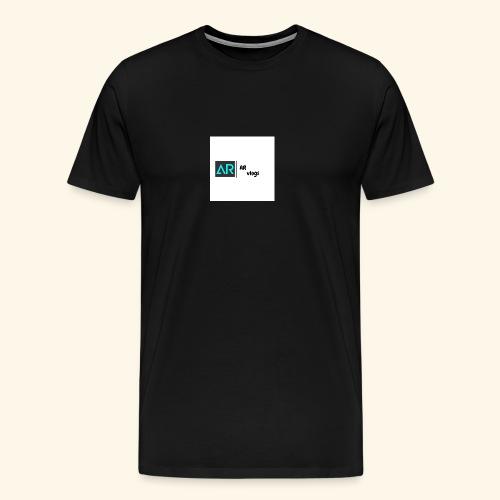 premium AR vlogs half sleeves tee - Men's Premium T-Shirt