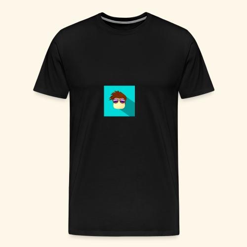 NixVidz Youtube logo - Men's Premium T-Shirt